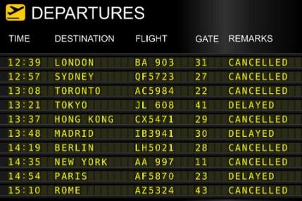 Come ottenere rimborso volo cancellato annullato indennizzo risarcimento ritardi partenze viaggi